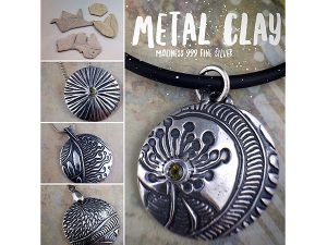 IOTA: Metal Clay Magic @ Gabriola Arts & Heritage Center.