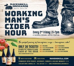 Workingman's Cider Hour @ Ravenskill Orchards