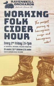 Working Folk Cider Hour - G.G. & The Ice Machine @ Ravenskill Orchards & Gabbie's Premium Cider