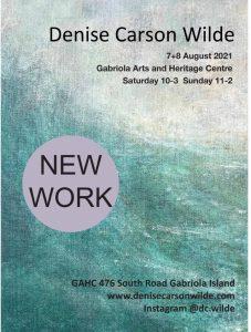 Denise Carson Wilde - New Work @ Denise Carson WIlde - New Work - Art Exhibition